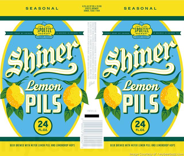 Shiner Adding Lemon Pils In 24oz & 12oz Cans