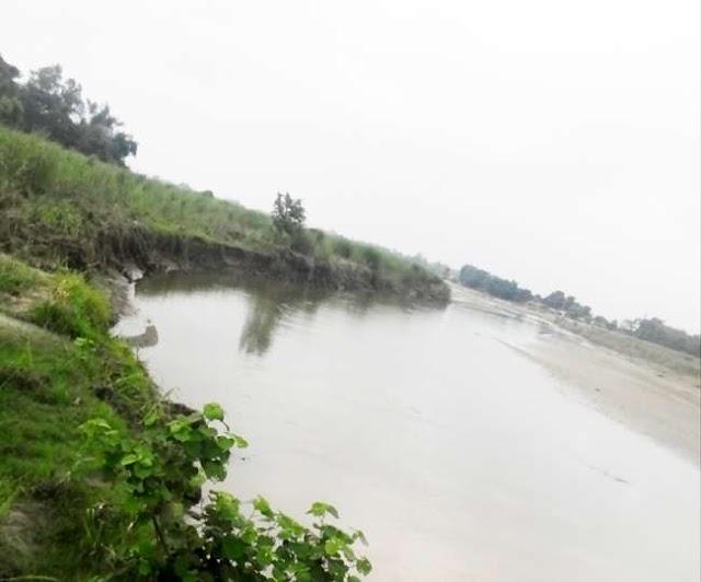 नेपाल ने रोका पंडई नदी का पानी, सीमावर्ती क्षेत्र के ग्रामीणों में आक्रोश..