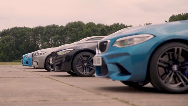 BMW M2 vs M4 vs M5 vs M6