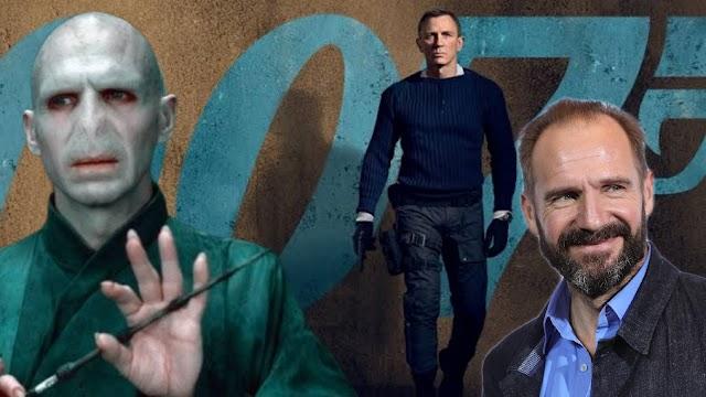 Ralph Fiennes o Lord Voldemort de Harry Potter está no elenco de 007: Sem Tempo Para Morrer