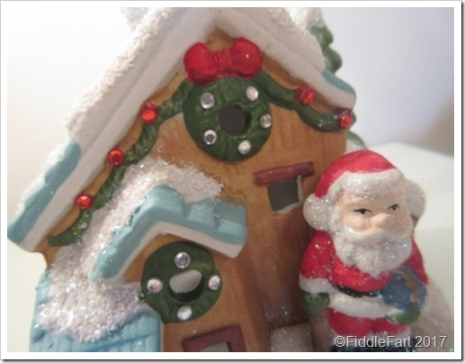 Santa Tealight House Decoration