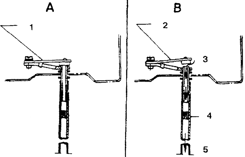 Температурный компенсатор системы холостого хода при высокой температуре двигателя