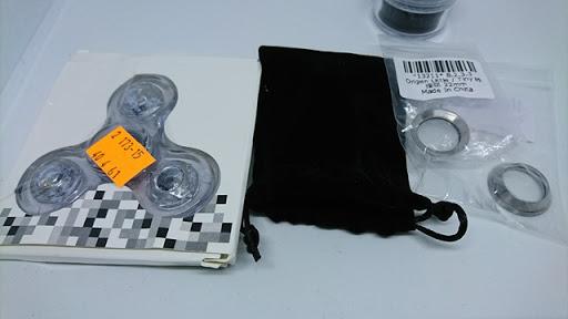 DSC 5373 thumb%255B3%255D - 【スピナー/フィジェット】FTで買った2種類のスピナー、ピカピカ光るやつと超小型マイクロスピナーレビュー。どっちも楽しいけどだから何?なやつ。おまけ:FDX V3レインボーファーストフラッシュLEDライトイルミネータ