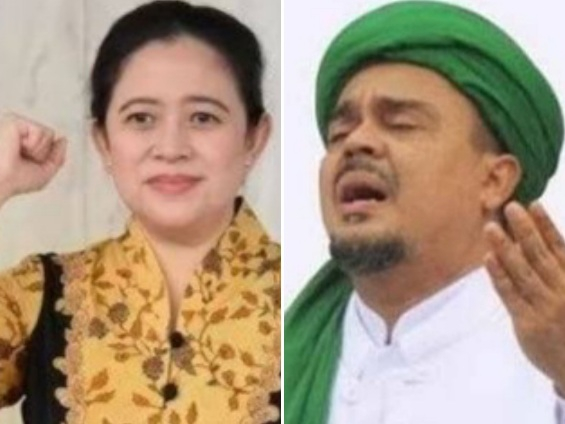 Survei SMRC: Puan Maharani Kalah Ngetop dari Habib Rizieq