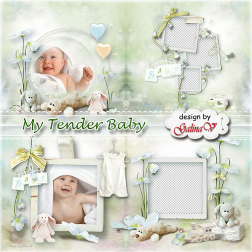Photobook for Newborns - My Tender Baby