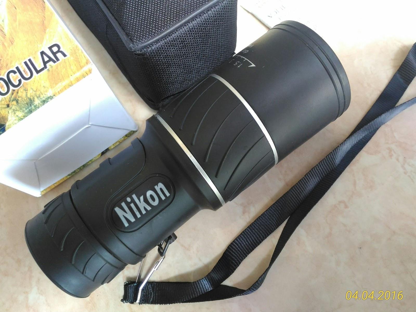 Alyjozz Online Shopp Teropong 16x52 Monocular Nikon 66m 8000m