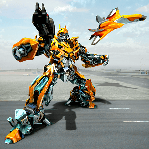 Air Robot Game 2 - Flying Robot Transformation