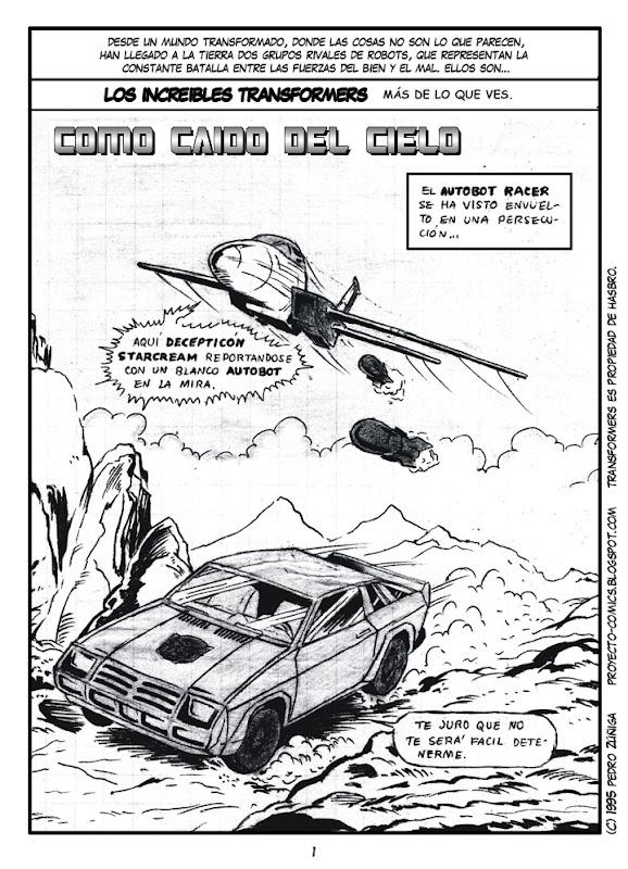 Proyecto Comics - Como caído del Cielo 01
