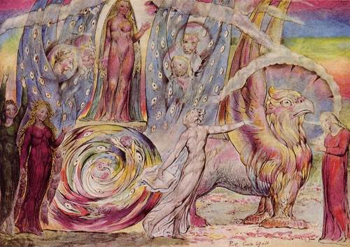 Beatrice Addressing Dante From The Car 1827 By William Blake, William Blake