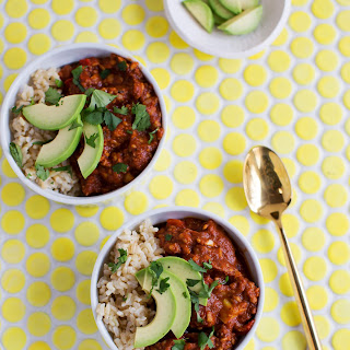 High Protein Vegetarian Chili Recipe