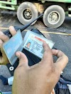 Gagal Nyalib, Pengendara Vixion Tabrak Mobil di Jalan Umum Desa Limbong Tebing Tinggi