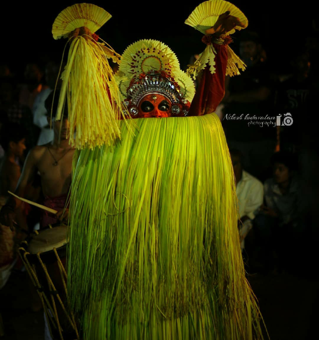 Thee Chamundi theyyam Photo