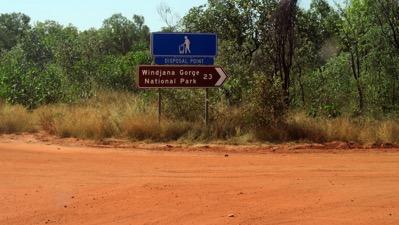 Windjana Sign