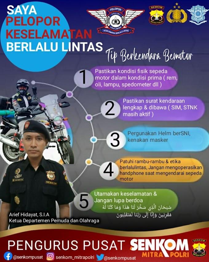 Tips Berkendara Motor