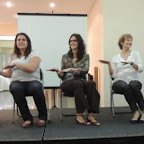 Pré-congresso - Workshop da Memoria Angela Bonisolo, Juliana Lauria, Dra. Tania Guerreiro, Regina Palladino e Danielle Pimentel