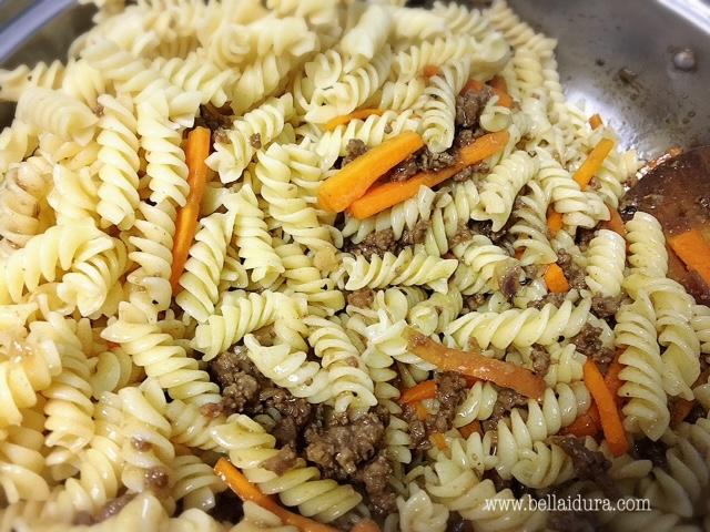 resepi spaghetti spiral