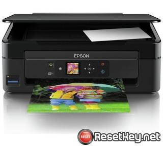 How to reset Epson XP-342 printer