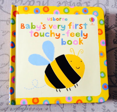 baby's very first touchy-feely book.