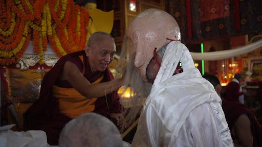 Long life man, long life puja Kopan Monastery Dec 2010.