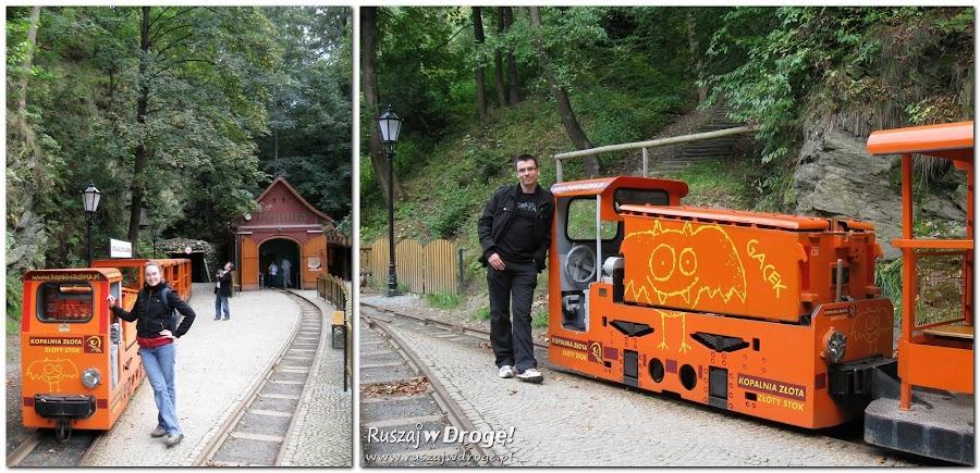 Podziemny tramwaj w Złotym Stoku