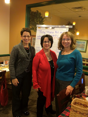Barb Girson working with client Debbie Sheridan and Top Seller Cheryl