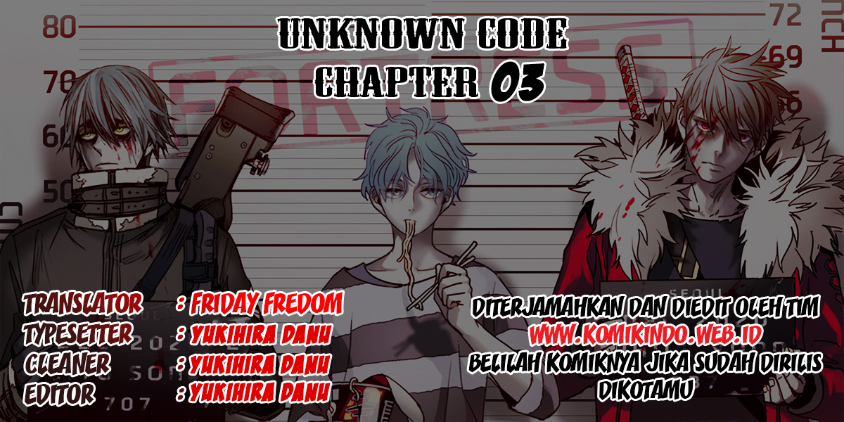 Unknown Code Chapter 3