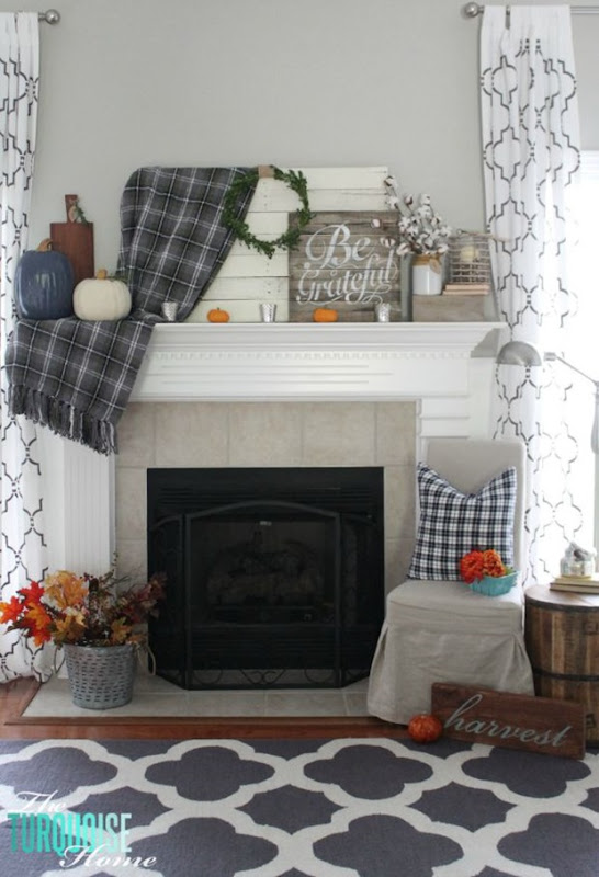 Grateful-Navy-Plaid-Fall-Mantel-vertical