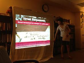 Photo: 4.10.13 UMBC - Hollaback Bmore street harassment discussion