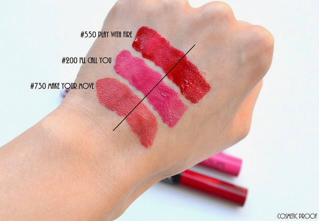 Makeup Rimmel London Provocalips Kiss Proof Lip Colour Review Swatches Of Make Your Move I Ll Call You And Play With Fire Cosmetic Proof Vancouver Beauty Nail Art And