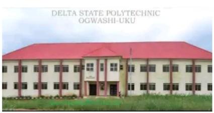 Delta State Polytechnic , Ogwashi -Uku Release 2nd Batch Admission list For 2020/2021 Session