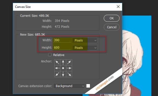 Hướng dẫn tạo ảnh thẻ 3x4 và 4x6 bằng Photoshop