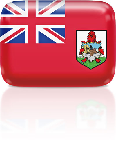 Bermudian flag clipart rectangular