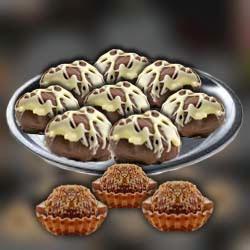 Рецепт приготовления ореховые конфеты с шоколадом