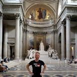 blown away by the architecture at the pantheon in Paris, Paris - Ile-de-France, France