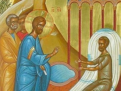 Sunday of the Paralytic: healing in the water of faith
