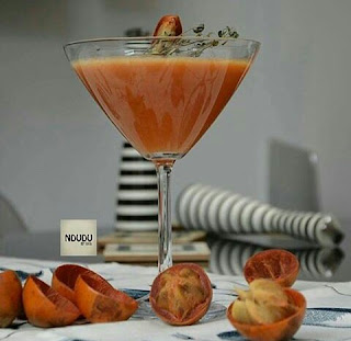 African star apple mocktail by Ndudu by Fafa