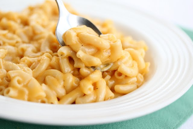 photo of creamy macaroni and cheese