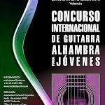 Concurso Internacional de Guitarra Alhambra para Jóvenes. 2013