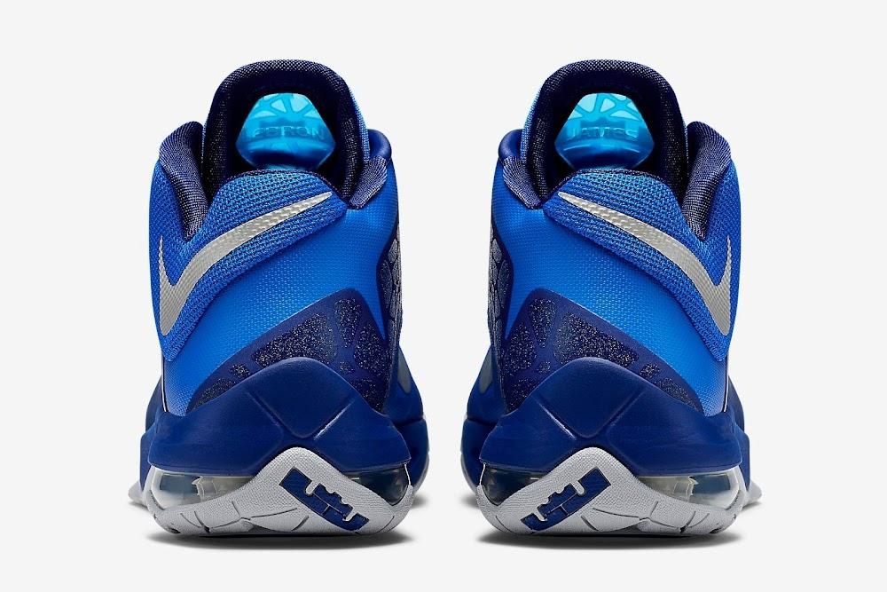 0da799c4027 Nike Ambassador VII 7 Lyon Blue amp Metallic Silver ...