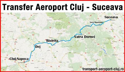 Transfer aeroport Cluj - Suceava