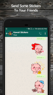 Kawaii Stickers For WhatsApp Screenshot