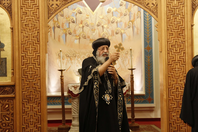 His Holiness Pope Tawadros II visit to St. Mark LA - _MG_0535.JPG