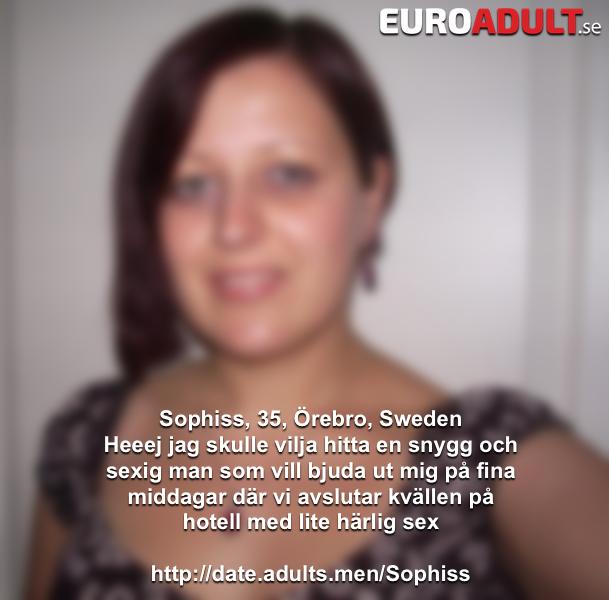 dating sweden sex örebro