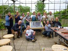 Zonnevoedseldroger workshop bij Wereldtuin Verdeliet, 2014