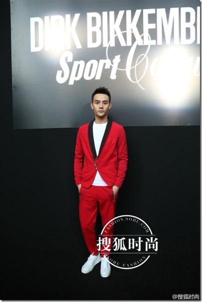 2016.01.19 Wang Kai X Milan Fashion Week AF16 X Dirk Bikkembergs 王凱 2016秋冬男裝週 01