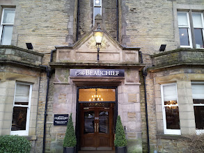 Photo: After a busy day of brewing at Thornbridge, our group visited three impressive Thornbridge pubs near Bakewell. First stop was the Beauchief.
