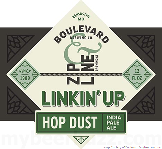 Boulevard & Zip Line Brewing Collaborate On Linkin' Up Hop Dust IPA