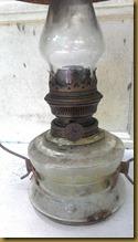 Kneer lampu minyak unik klasik jadul retro tempo doeloe ; Asahi oil lamp burner brass