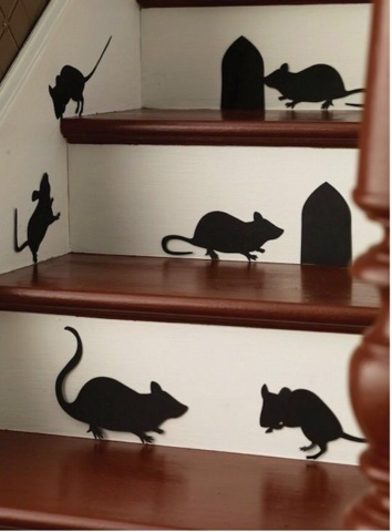 mice silouttes