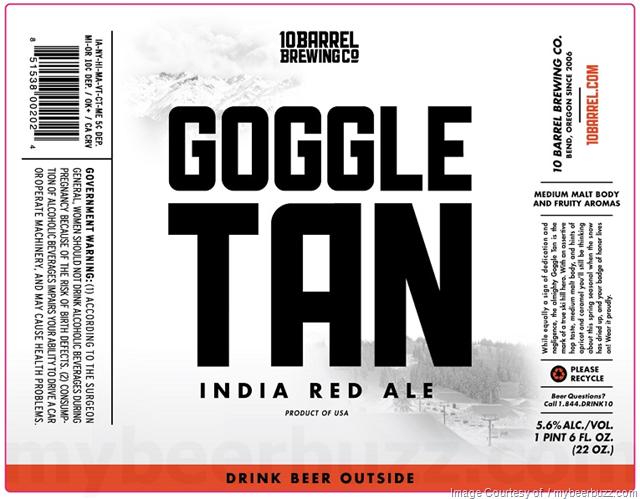 10 Barrel Goggle Tan
